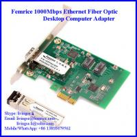 Buy cheap Gigabit Ethernet PCI Express NIC Cards, Single Port GbE (SFP) Network Cards from wholesalers