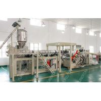 Buy cheap Automatic Sheet Extruder Production Line With PET Non - Crystallization Extruding System from wholesalers