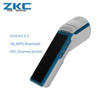 Buy cheap New! Android POS Terminal for mobile retail management system Loyverse POS (ZKC5501) from wholesalers