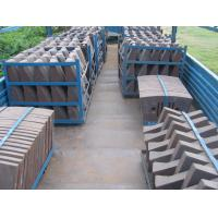 Buy cheap Cement Mill Wear Resistance Cast Iron Liner Plates For Conch Cement Group Diameter3.8M from wholesalers