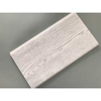 Buy cheap Smooth Tough Wood Laminate Wall Panels , Interior Pvc Cladding Panels Wooden Design from wholesalers