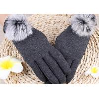 Buy cheap Winter Women'S Gloves With Touch Screen Fingertips , Soft Gloves For Cell Phone Use  from wholesalers
