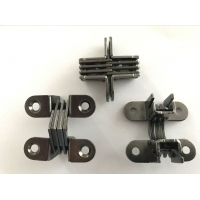 Buy cheap Carbon Steel Hinges in black nickle plating for Car refreigerator from wholesalers