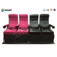 Buy cheap Electric 4D Movie Theater Motion Chair With Special Effect System 1 Year Warranty product