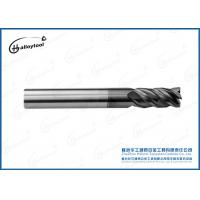 Buy cheap Durable Cemented Carbide Diamond Coated End Mills For High Speed Cutting from wholesalers