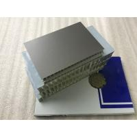 Buy cheap Lightweight Aluminum Honeycomb Core Panels High Strength For Rail Construction product