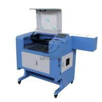 Buy cheap Small 60W Acrylic Leather MDF Co2 Laser Cutting Machine 500*400mm product