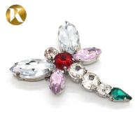 Buy cheap Dragonfly Shape Rhinestone Shoe Clips Europe And America Style For Buckle Ornaments from wholesalers