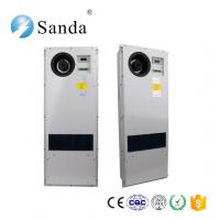 Buy cheap SANDA industrial counter flow heat exchanger for telecom shelter cabinet sheet metal from wholesalers