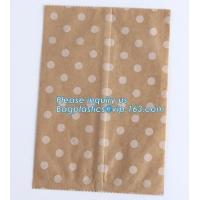 Buy cheap Brown Kraft Paper Bags Gift Food Bread Candy Wedding Party Bags,Foil Lined Kraft Design Paper Window Bread Bags for food from wholesalers