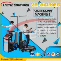 Buy cheap Multiplayer Video Game Virtual Reality Treadmill , Airport Motion 9D Movie Theater from wholesalers