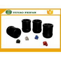 Buy cheap Professional  PU Custom Dice CUP SET  Packed in PU box from wholesalers