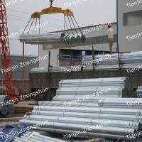 Buy cheap 4′′ ERW Galvanised Pipe from wholesalers