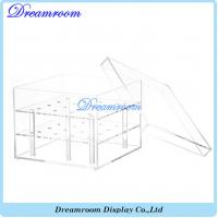 Buy cheap Luxury Transparent Acrylic Lid Flower Box Wholesale Acrylic Box from wholesalers