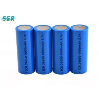 Buy cheap Durable Lithium Ion Battery 26650 3.7V 4000mah For Flashlight / Electric Torch from wholesalers