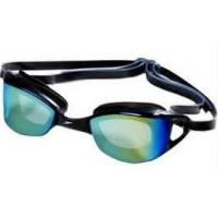Buy cheap Professional Cool Sport eyewear, one piece silicone swimming optical goggles from wholesalers