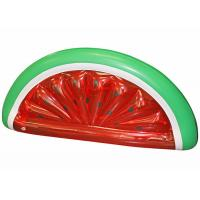 Buy cheap Half Watermelon Pool Float , Red Inflatable Swimming Pool Toys WF-25 from wholesalers