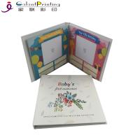 Buy cheap Hardcover Paper Printing Services Baby Memory Books Keepsake Album First Year Record from wholesalers