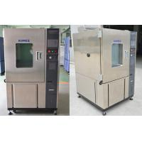 Buy cheap Custom High And Low Temperature Test Chamber / Thermostatic And Humidistatic Equipment from wholesalers