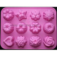 Buy cheap 12-Flower Silicone Cake Chocolate Craft Candy Baking Mold/Candy Mould/Cake Mold from wholesalers