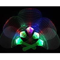 Buy cheap LED handle fan, Flashing handle Fan, flashing plastic fan; from wholesalers
