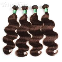 Buy cheap Tangle Free 100 Indian Remy Hair , Body Wave Hair Extensions Soft / Glossy / Clean from wholesalers