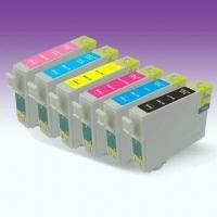 Buy cheap Color Cartridges, Suitable for Epson Series, with 13.5mL Colored Ink Volume, Comes in Various Colors from wholesalers