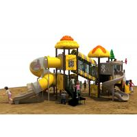 Buy cheap Galvanized Steel, Sponge, PVC, Plastic Playground Material Outdoor Playground Equipment from wholesalers
