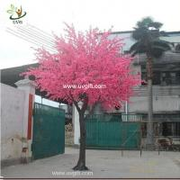 Buy cheap UVG CHR117 buy cherry blossom tree with artificial flowers from china manufactory 6m tall from wholesalers