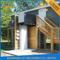 Buy cheap 300kgs 2.5m Vertical Wheelchair Platform Lift Wheelchair Lift for Private Villa from wholesalers