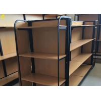Buy cheap Boutique Store Wood And Metal Shelves Melamine Laminated MDF Back Panel from wholesalers