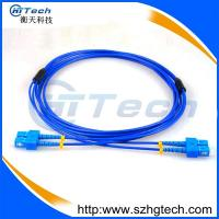 Buy cheap Singlemode Duplex 2Core Armoured Fiber Optic Patch Cable SC-SC from wholesalers