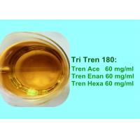 Buy cheap Strong Injectable Trenbolone Series Blend Steroid Oil Tri Tren 180 mg/ml from wholesalers