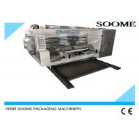 Buy cheap High Speed Flexo Printer Slotter Die Cutter For Corrugated Carton Box Express product