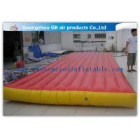 Buy cheap Red Interactive Inflatable Sports Games Air Mattress For Gym Bungee Jumping product