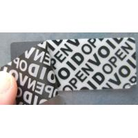 Buy cheap Anti - Counterfeiting Warranty Void Labels With Double Coated Paper from wholesalers
