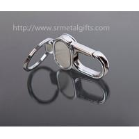 China Where to find heavy duty metal keychains?China silver metal heavy duty snap hook key ring, on sale