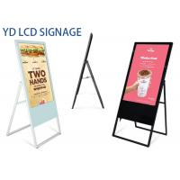 Buy cheap Indoor Portable Floor Standing Lcd Advertising Display 47/49 Inch LCD Poster Screen from wholesalers