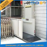 Buy cheap Home Stair Elevator Wheelchair Platform Lift with Self Resetting System Drive Control from wholesalers