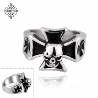 Buy cheap Stylish Vintage Cross Design Skull Stainless Steel Personalized Gifts from wholesalers