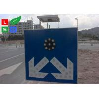 Buy cheap Freestanding LED Solar Powered Sign Lights , Traffic Safety IP65 Commercial Solar Sign Lights from wholesalers