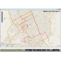 Buy cheap Online Configuration GPRS GPS Fleet Tracking Software Polygone Geofence from wholesalers