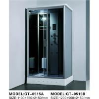 Buy cheap Durable Walk In Steam Shower Cubicle , Jacuzzi Steam Shower Cabins With Seat from wholesalers