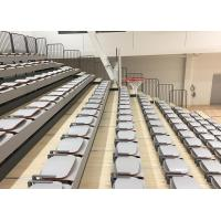Buy cheap HDPE Seat Material Telescopic Tribunes Customized With Foldable Nose Mounting Seat from wholesalers