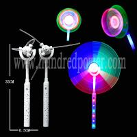 Buy cheap DIY Spinning Flashing Windmill Toy Commercial Windmill Led Light 9 LEDs from wholesalers