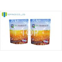 Buy cheap Standing Type Food Packaging Bags Resealable Zipper For Nutrition Powder from wholesalers