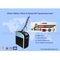 Buy cheap Picosure laser all skin types tattoo / skin whitening / freckle removal machine from wholesalers