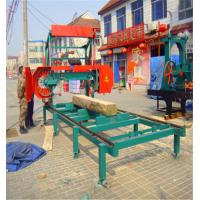 Buy cheap Horizontal bandsaw sawmill for sale,Portable wood  band saw Log cutting used from wholesalers