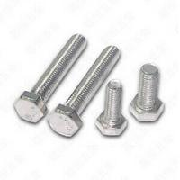 Buy cheap Hexagonal Head stainless steel Bolts and Nuts For Machine , a4 70 bolt DIN933 from wholesalers