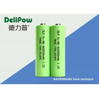 Buy cheap 1.2V 2000mAh Rechargeable Nimh Aa Batteries For Household Appliances from wholesalers